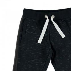 pantalon felpa niño gris jaspeado de wooloomooloo