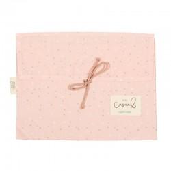 bolsa algodon bebe bimbidreams planet rosa