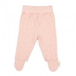 jubon y polaina nacimiento bebe rosa bimbidreams