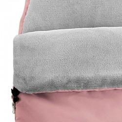 saco capazo bebe rosa de bimbidreams forro interior