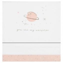 juego sabanas cuna bebe planet rosa de bimbidreams