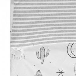 detalle saco nordico maxicuna bebe indian de bimbidreams