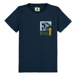 camiseta niño garcia jeans marino
