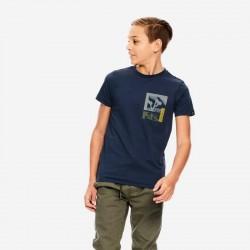 look camiseta manga corta niño azul marino de garcia jeans