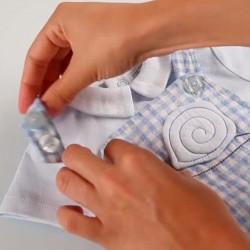 tirantes de ranita bebe boboli con camiseta