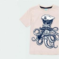 detalle camiseta niño estampado pulpo de boboli