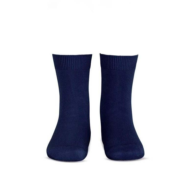 calcetín infantil azul marino de ysabel mora