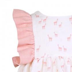detalle jesusito bebe niña eve children de jirafas rosa