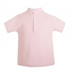 polo niño rosa de eve children