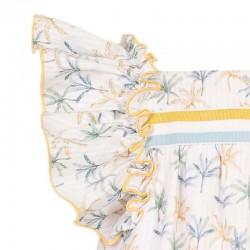 detalle vestido niña primavera verano de eve children