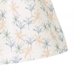 vestido niña primavera verano de eve children con estampado palmeras