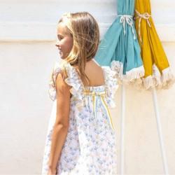 niña con vestido primavera verano de eve children