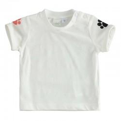 camiseta bebe algodón estampada de ido
