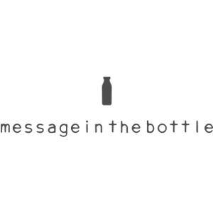 message in the bottle logo tienda pequesmodainfantil