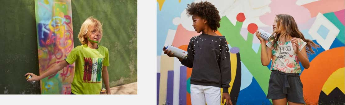 Colección de ropa para niña,niño y bebé de la marca Boboli